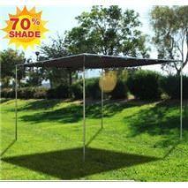 Flat Mesh Tarp Shade Canopies Flat pole canopy kits with a mesh top.