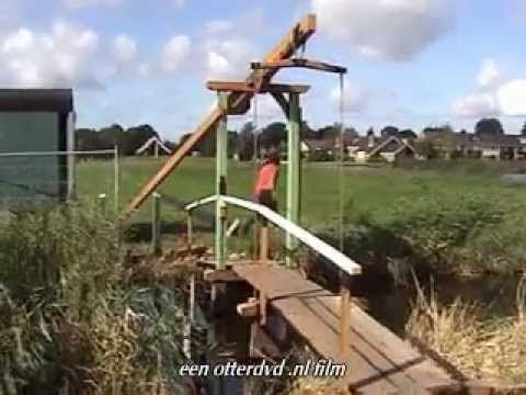 Oude roede hergebruikt van molen De Kat De Veenboer en De Schoolmeester - YouTube