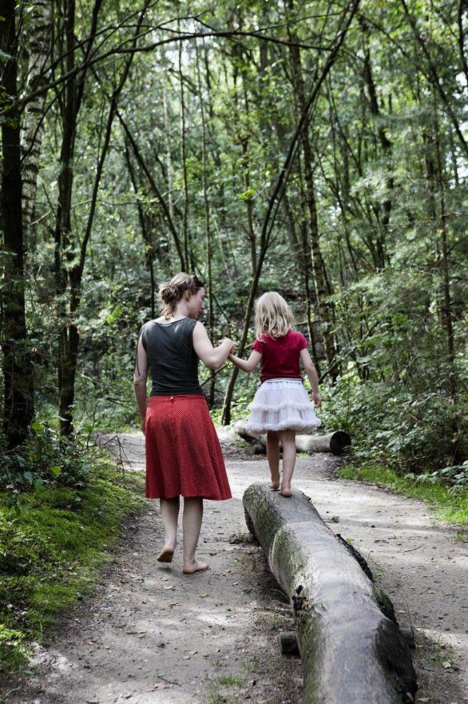 Blote voetenpad in Nationaal Park Hoge Kempen