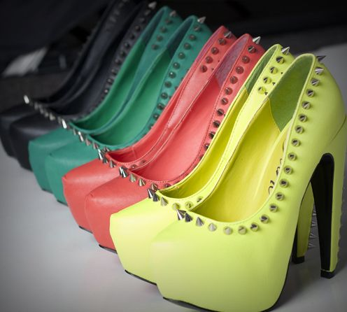 Inspiring images and videos recently added to we heart it / visual  bookmark. Colorful HeelsComfortable ShoesWomen's ShoesShoe BootHigh ...