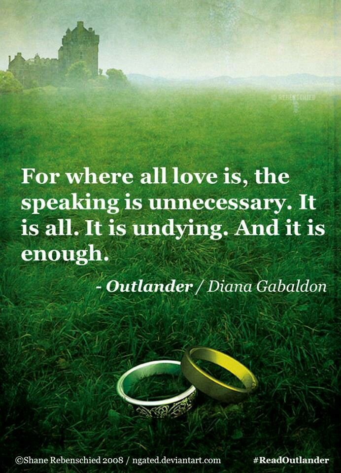 Gabaldon Outlander Quotes. QuotesGram by @quotesgram