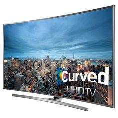 "Samsung 78"" Curved 4K Ultra HD 3D Smart LED TV"