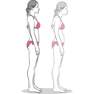 // Posture Stretches & Exercises : look 10 lbs lighter by improving your posture