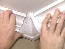 How to Install Crown-Molding Corner Blocks
