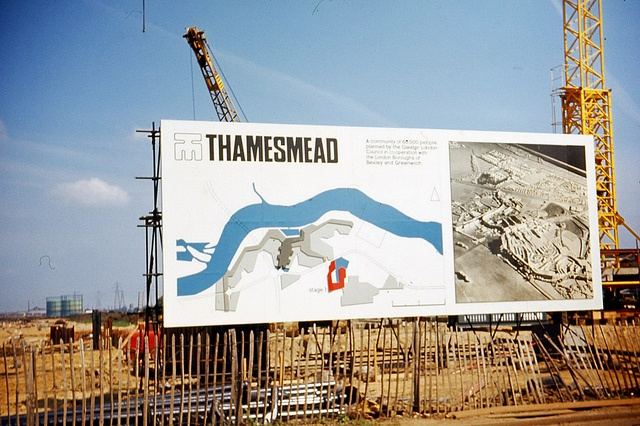 Thamesmead the beginning, 1967