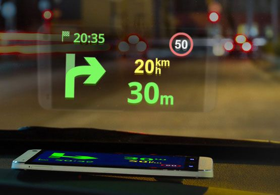 Turn your car premium with this cheap HUD feature for Smartphone