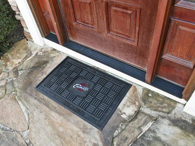Cleveland Cavaliers Medallion Door Mat by Fanmats. $14.88. Cleveland Cavaliers Medallion Door MatWow your guests with door mats by FANMATS. Adorned with your favorite team's logo, these door mats make a statement while keeping dirt and mud from entering your home. Heavy duty vinyl construction ensures a durable mat. Deep reservoir contains water and debris. Rugged ribs scrape shoes clean. Your favorite team's logo is molded in 3D construction. Please note: These prod...