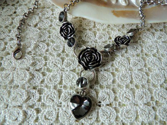 Vintage Necklace Vintage Jewelry Tibetan Silver Women Decor