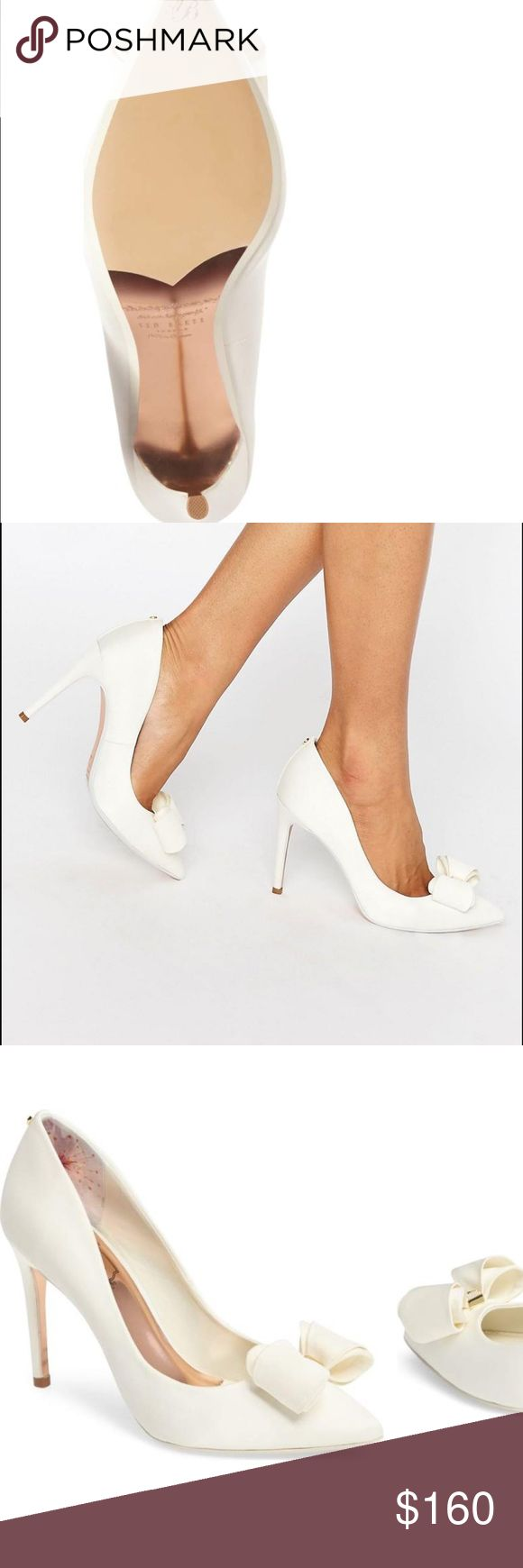 SALE!! Ted baker High heels Ted Baker white high heels Ted Baker Shoes Heels