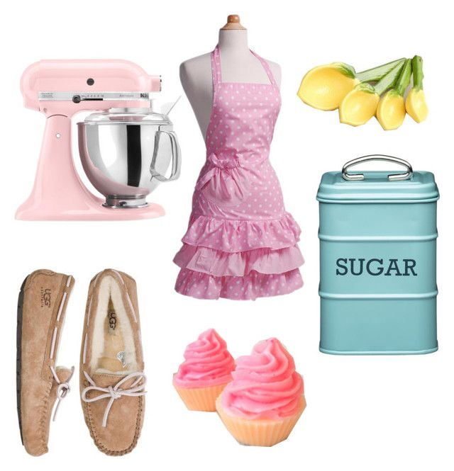"""""""Cupcakes!!!"""" by valeriapetrescu1 ❤ liked on Polyvore featuring UGG Australia, KitchenAid and Cost Plus World Market"""