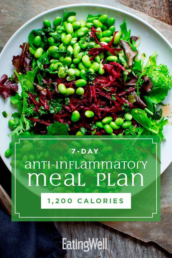 7Day AntiInflammatory Diet Meal Plan 1,200 Calories