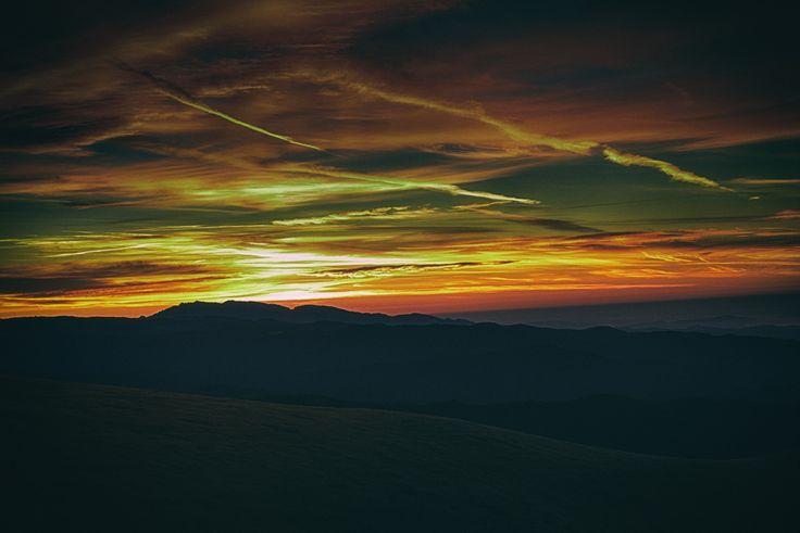 Ranca sunrise - Sunrise at Ranca, Gorj.