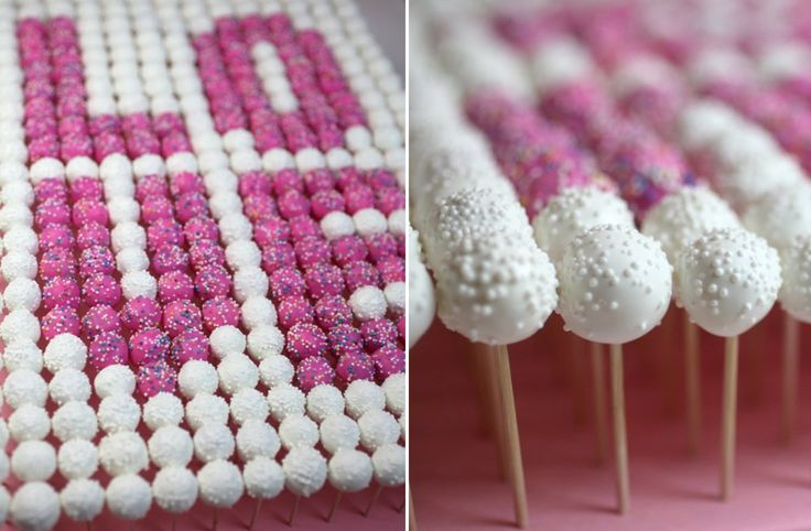 25 Cake Pops Perfect for the Wedding
