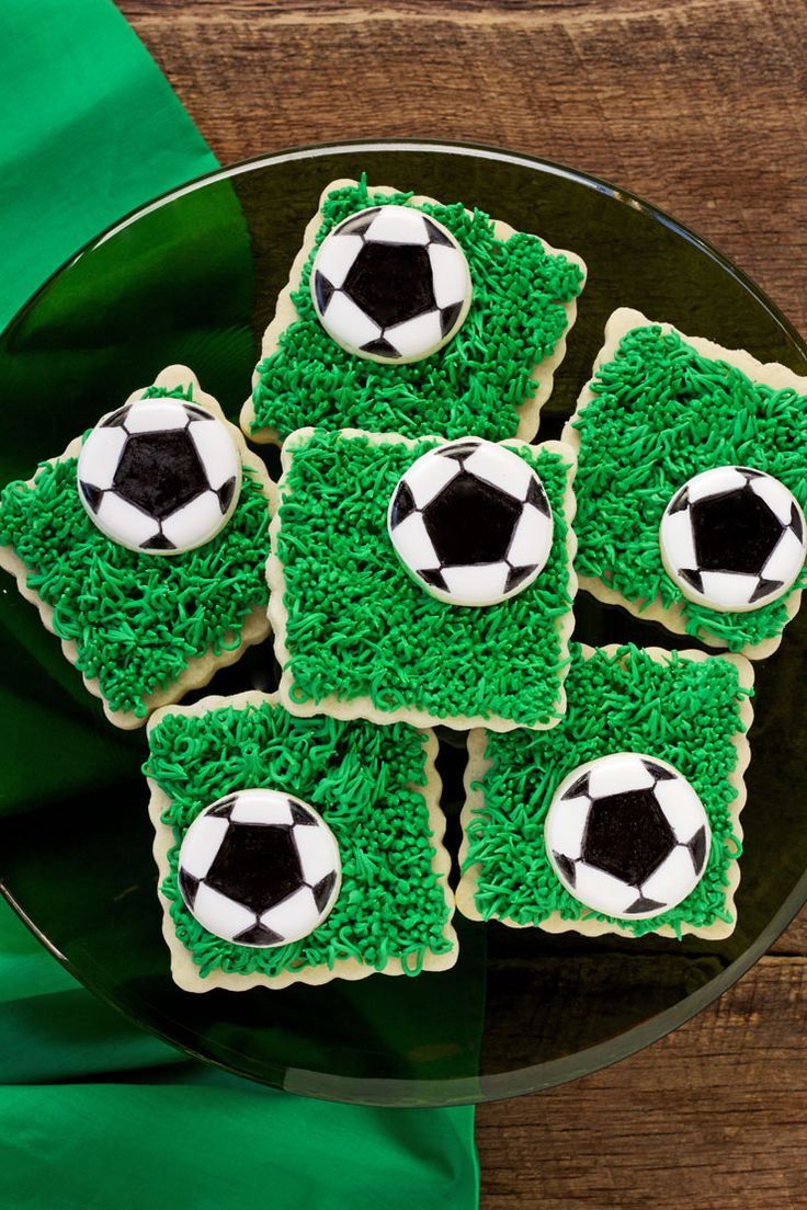 25 Best Ideas About Soccer Cookies On Pinterest