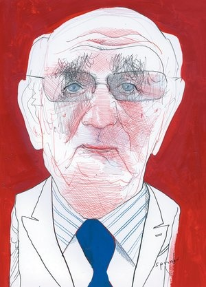 Paul Volcker by John Springs