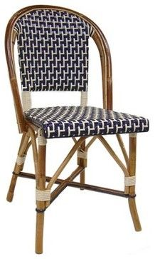 French Bistro Chair traditional-outdoor-lounge-chairs