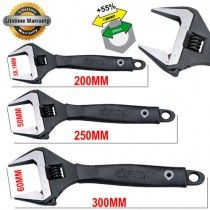 Boxo WR1533-3PCE Boxo 3 Pce Industrial Adjustable Wrench