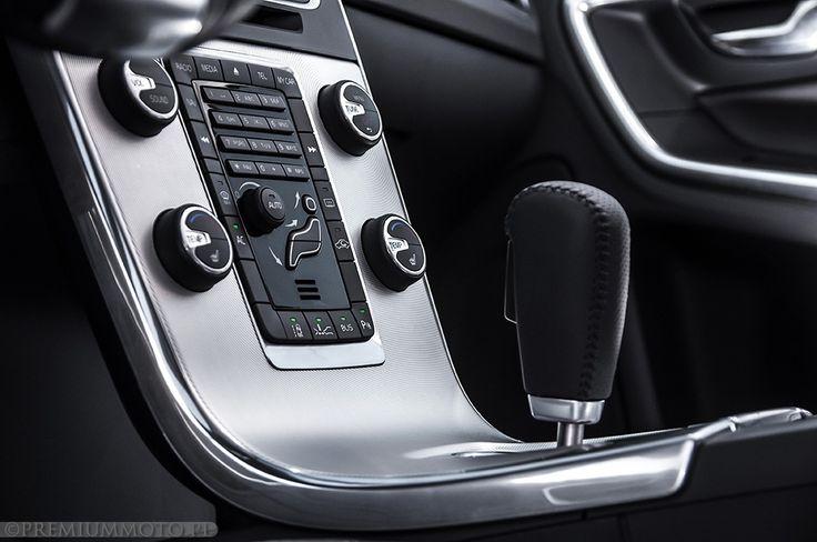 Volvo S60 r-design gear stick #volvo #s60 #stick more: http://premiummoto.pl/05/21/volvo-s60-d5-r-design-nasza-sesja