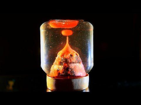 мастер-класс # 13 - Извергающийся водяной Вулкан - Своими руками - YouTube