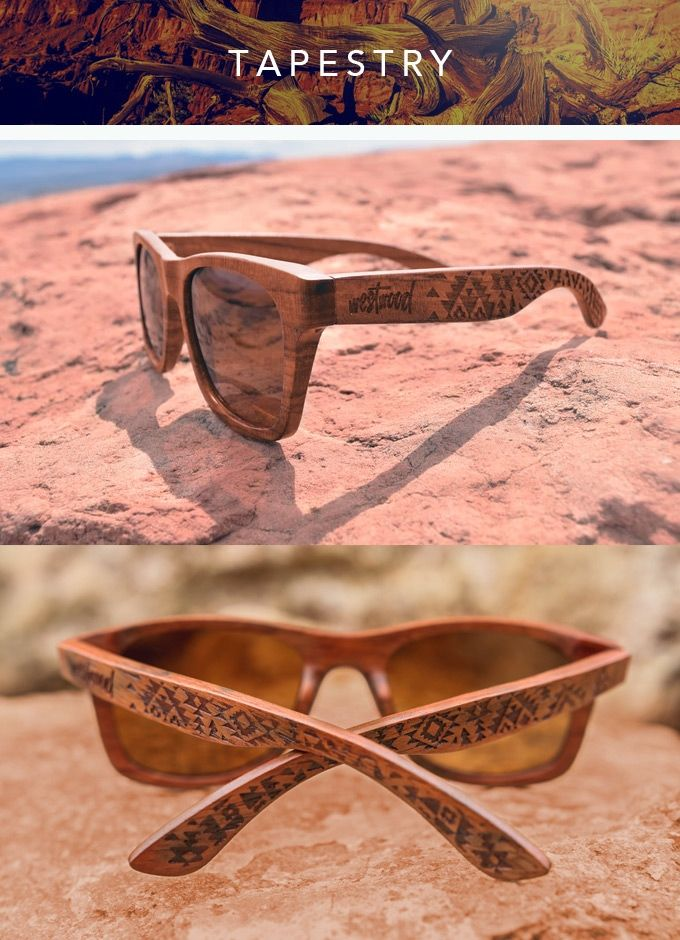The Tribal Collection | Wooden Polarized Shades | Conceptcus