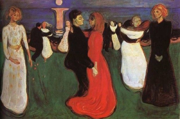 Edvard Munch, The Dance of Life, 1899, Norwegian National Gallery, Oslo