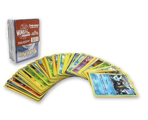 Amazon.com: Pokemon Trading Cards - Monster Protectors 100 Assorted Pokemon Card Value Pack: Toys & Games