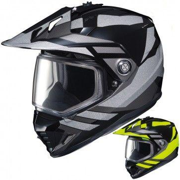 HJC DS-X1 Lander Mens Snowmobile Cruising DOT Winter Sports Helmets