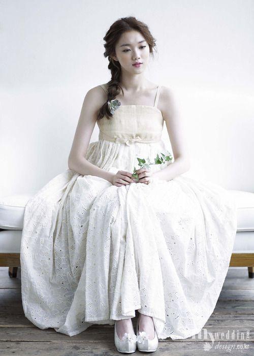 Design By Tchai Kim youngjin - modern korean traditional dress hanbok