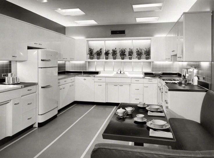 Modern Kitchen circa 1955