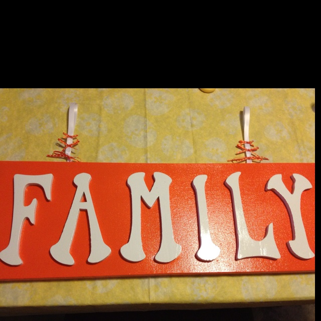 Wooden letters on canvas wooden letters pinterest for Wooden letters on canvas