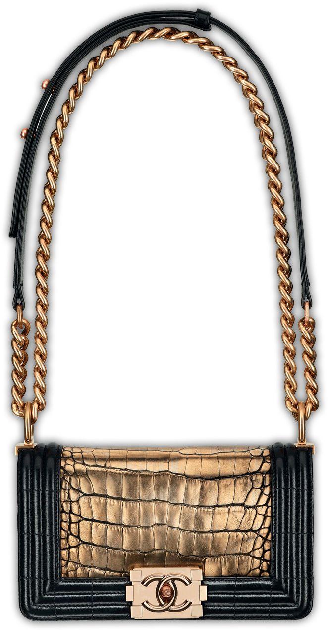 Chanel, so dreamy.Chanel Handbags, Fashion, Chanel Bags, Black Gold, Bags Lady, Chanel Black, Chanel Boys Bags, Hermes Handbags, Vintage Chanel