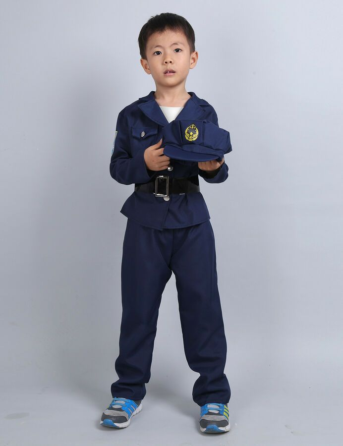 f1a78143efc3 Kids Costume Police Doctor Firefighter Fancy Dress Cosplay Party Carnival  Outfit#Doctor#Firefighter#Police