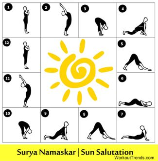 1000 images about sun salutation on pinterest  yoga