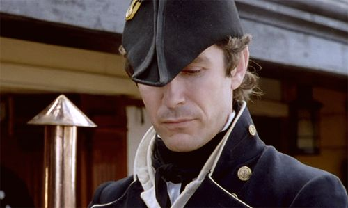 ::sigh:: is it any wonder that Paul McGann as Lt. Bush in the Hornblower movies inspired Captain/Commodore William Ransome in my Ransome series?