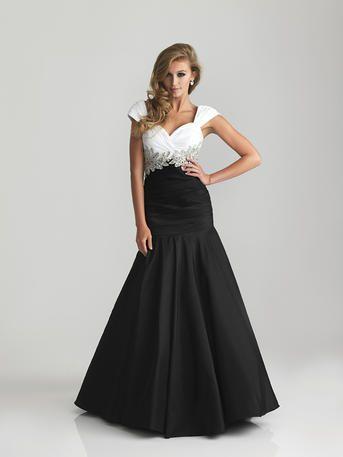 Divina -Modest prom dress