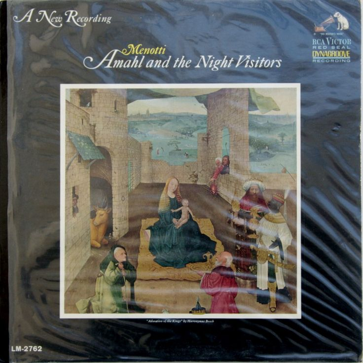 Vintage Christmas classic album: Amahl And The Night Visitors by MusicAndMuse on Etsy