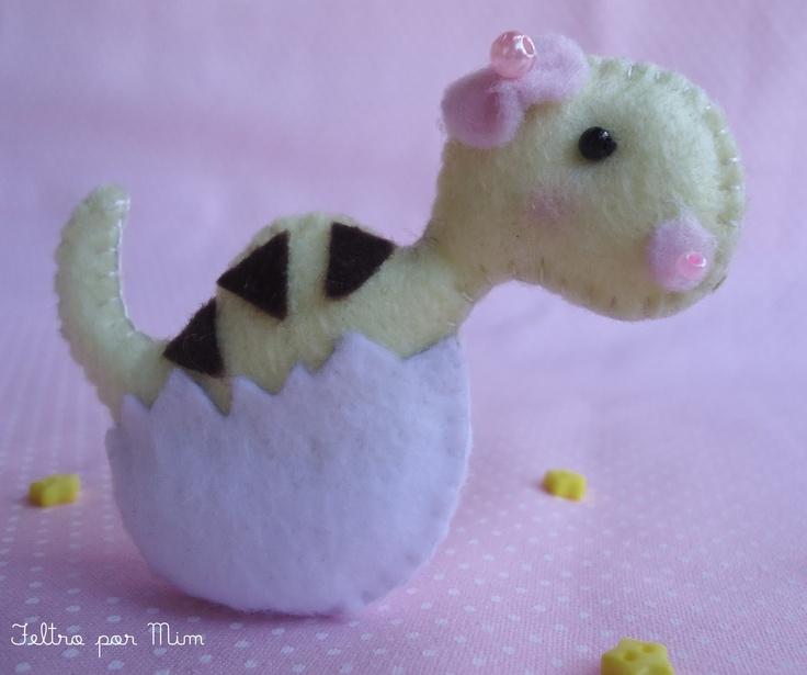 dinossaurinha bebê