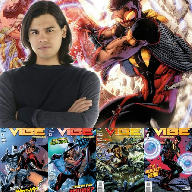 "Vibe (real name Paco Ramone or Francisco ""Cisco"" Ramon) is a comicbook superhero published by DC Comics. He first appeared in Justice League of America Annual #2.  Can anyone give me some good info about Vibe. If the info is good I will send you a link to some Vibe digital comics. Just comment on the status and I will recognize you. Also send me a private message with your email address where you want the link to go. P.R.U. = Pride. Respect. Unity."