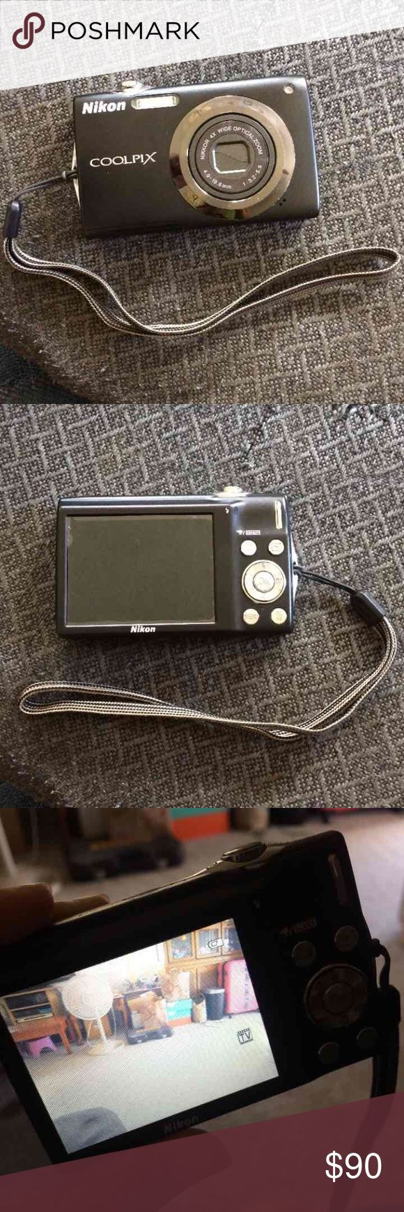 Nikon Coolpix Camera Still in good condition.  Works perfectly.  Has small scratches. Have charger. Other