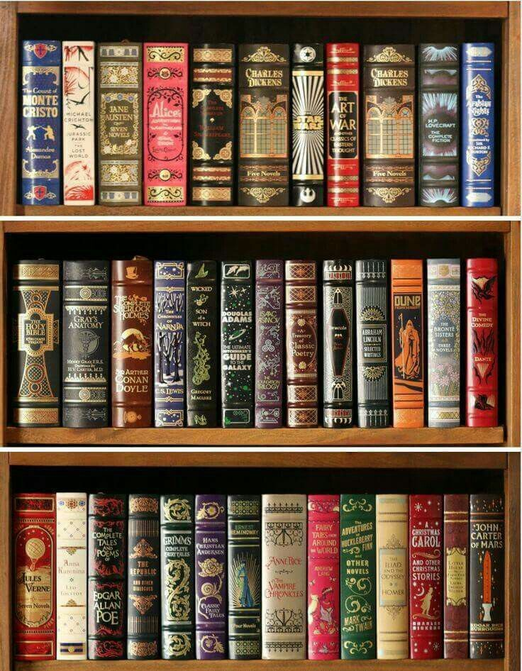 Part of the thrill is to take time to pick and choose books worthy of your beautiful empty shelves. Valuable books for your shelves.