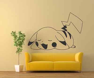 Pikachu-24-x35-Pokemon-Wall-Decals-Vinyl-Decals-Murals-Sticker