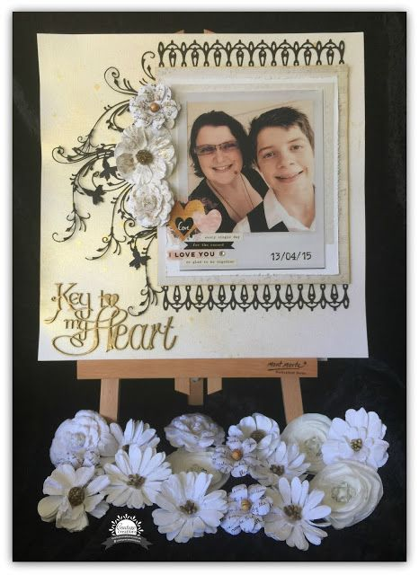 Couture Creations: Key to my Heart by Tracey Rohweder