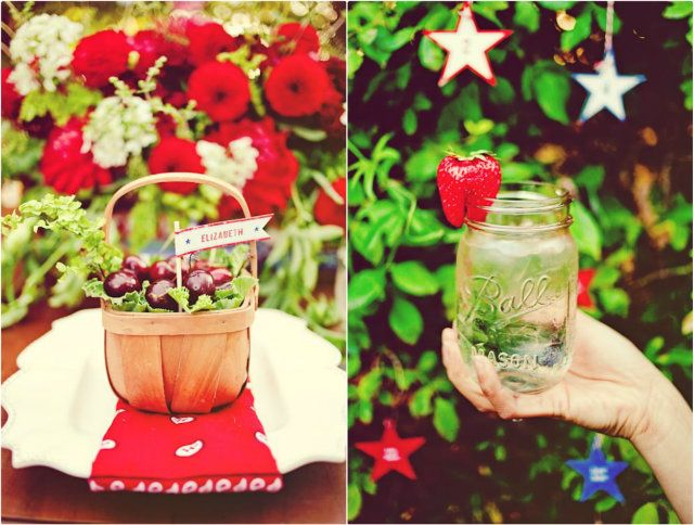 Fourth of July Wedding   4th of July Wedding   Red, White and Blue Wedding   Perfect Wedding Guide Blog