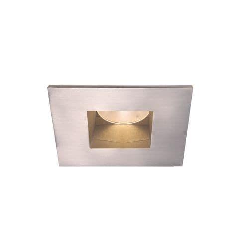 WAC Lighting HR-2LED-T709S-35 2 3500K High Output LED Recessed Light Pinhole Trim (Brushed nickel)