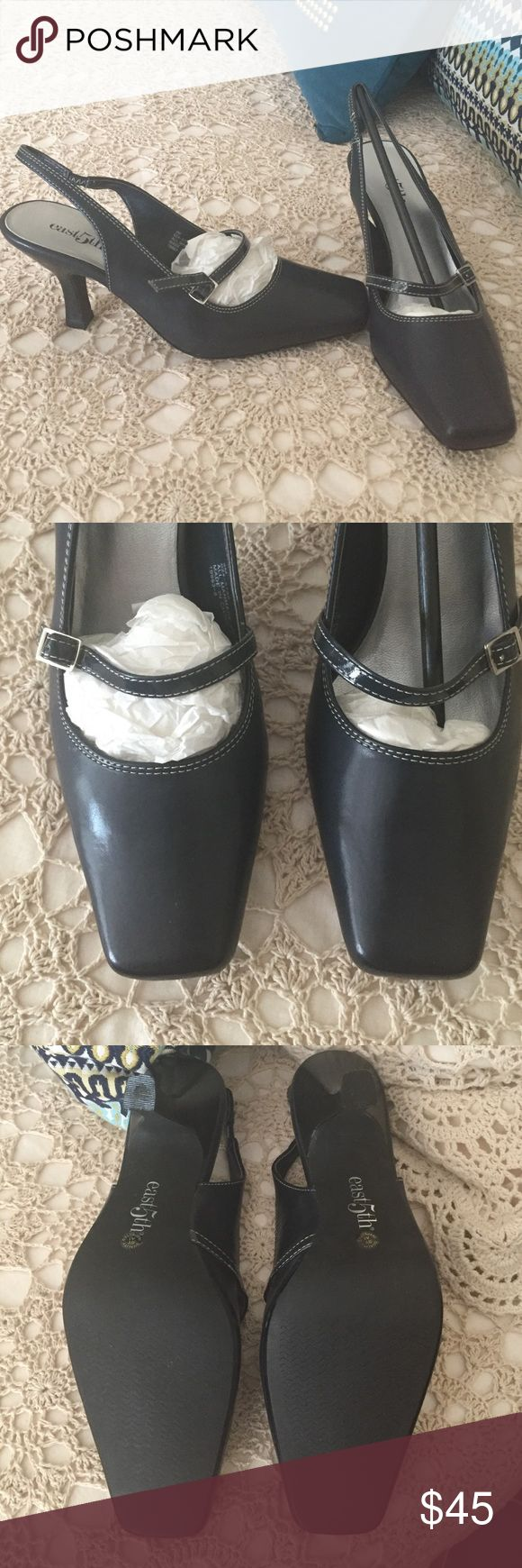 New east5th Ladies Shoes In brand new condition. Navy blue color not black 😊 Shoes Heels
