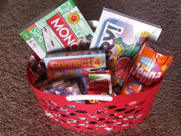 Susan North Memorial Auction: Family Game Night Basket!