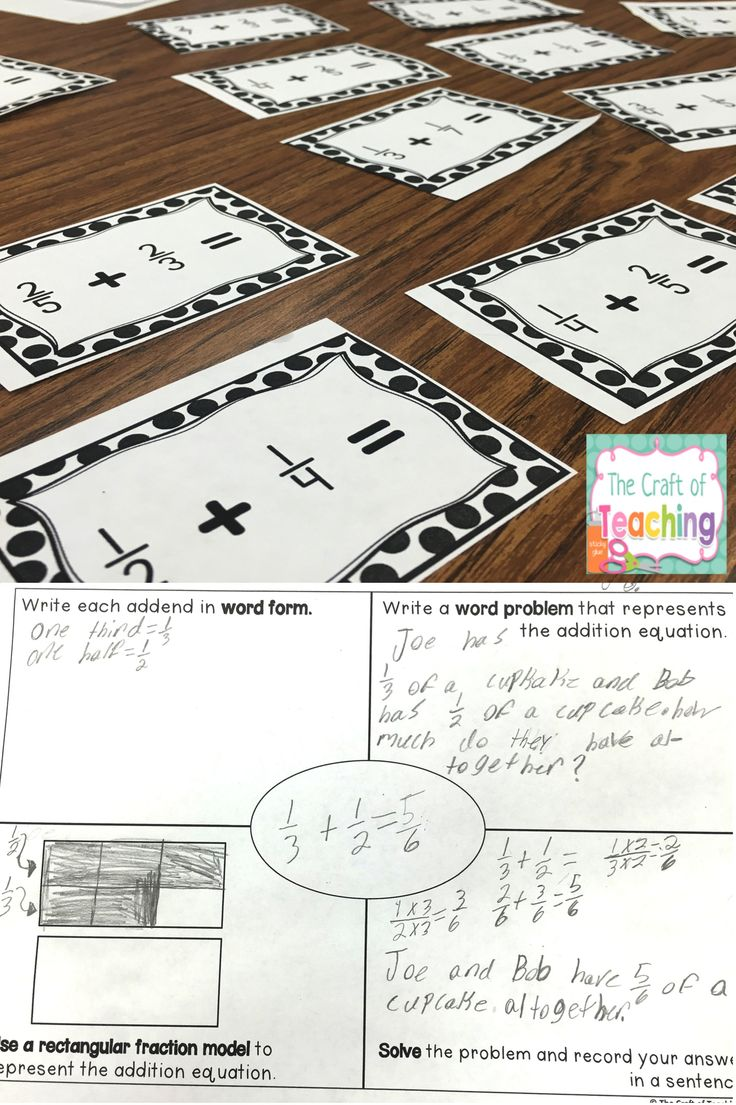 Adding fractions can be tricky, but students can use this resource to show what they know about how to add fractions with unlike denominators and mixed numbers.