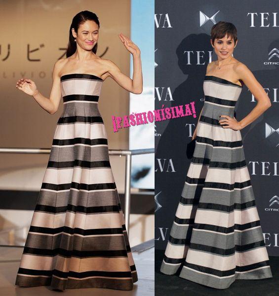 Dior-dress-olga-kurylenko-veronica-echegui-who-wore-it-better