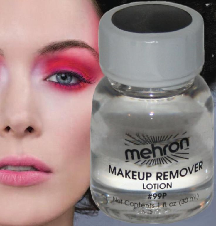 Makeup remover lotion theatrical beauty cosmetic face cleanser clown travel size #Mehron