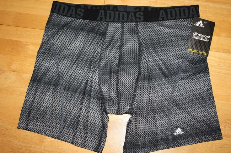 New adidas men's climacool boxer brief underwear graphic series ...